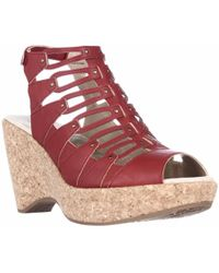 Jambu - Lillian Strappy Wedge Sandals - Lyst