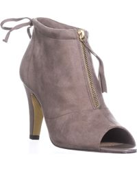Bella Vita - Nicky Ii Peep-toe Ankle Boots - Lyst