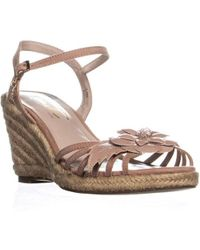 Nanette Lepore - Nanette Quince Wedge Sandals - Lyst