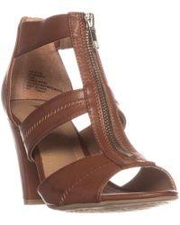Rialto - Ritz T-strap Zipper Sandals - Lyst