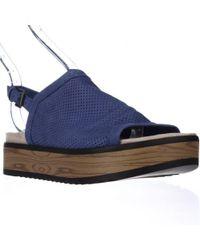 Naya - Uno Casual Slingback Platform Sandals - Lyst