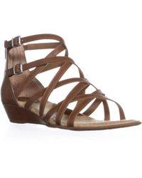 5aa46586b624 Born - Mimi Strappy Gladiator Sandals - Lyst