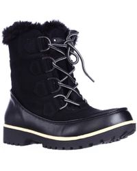 Jambu - Jbu By Mendocino Mid Calf Faux Fur Winter Snow Boots - Lyst