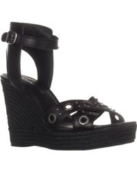 Lucky Brand - Leander Wedge Sandals - Lyst