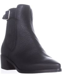 Belstaff - Albaz Motorcycle Ankle Boots - Lyst