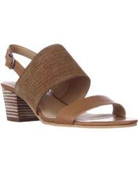 30cbb4d9034 Lucky Brand - Gewel Block Heel Sandals - Brown Sugar - Lyst