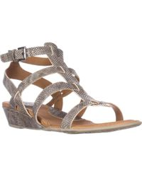 Born - B.o.c Heidi Strappy Comfort Sandals - Lyst