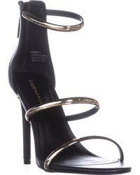 Bebe - Berdine Strappy Dress Sandals - Lyst