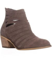 Carlos By Carlos Santana - Vanna Strappy Ankle Booties - Lyst