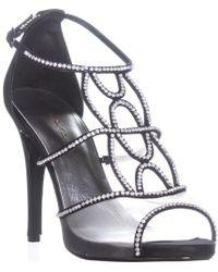 Caparros Ellen Rhinestone Strappy Dress Sandals
