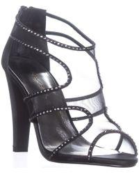 Caparros - Desire Heeled Rhinestone Gladiator Sandals - Lyst