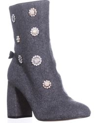 Nanette Lepore - Linette High Tope Ankle Boots - Lyst