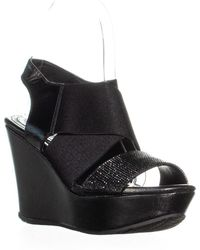 Kenneth Cole - Reaction Sole-less 2 Cutout Wedge Sandals - Lyst