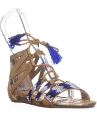 1e030a94e Kenneth Cole - Reaction Lost Look 2 Gladiator Sandals - Lyst