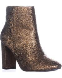 Kensie - Leopolda Block-heel Ankle Booties - Lyst