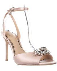 Badgley Mischka - Jewel Hayden Ankle Strap Dress Sandals - Lyst