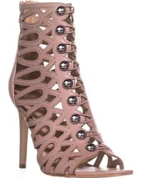 Guess Perlina2 Gladiator Ankle Booties