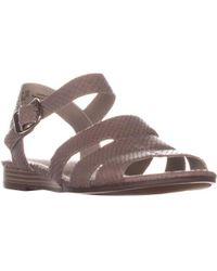 Naturalizer - Kaye Flat Sandals - Lyst