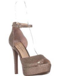 2665078b2c Jessica Simpson - Beeya Ankle Strap Platform Sandals - Lyst