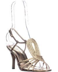 Adrianna Papell - Megan Strappy Dress Sandals, Bronze Multi - Lyst