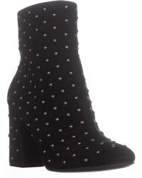 Lucky Brand - Wesson2 Ankle Studded Zip Up Boots - Lyst