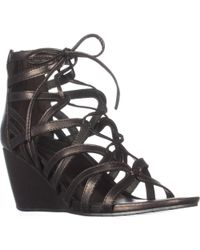 Kenneth Cole - Reaction Cake Pop Wedge Sandals - Lyst