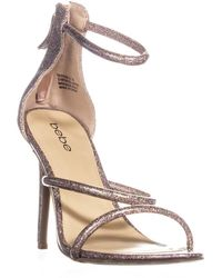 Bebe - Berdine Strappy Dress Sandals - Lyst