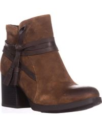 Born - B.o.c. Amber Tassel Ankle Boots - Lyst