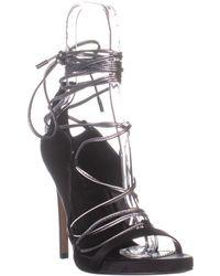BCBGMAXAZRIA - Esme Lace Up Sandals - Lyst