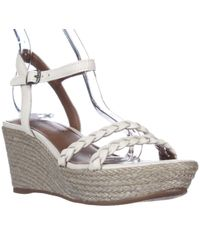 Lucky Brand - Lyall Espadrille Wedge Braided Strap Sandals - Lyst