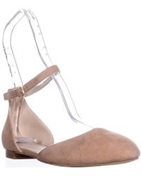 Kenneth Cole - New York Willow Ankle Strap Flats - Lyst