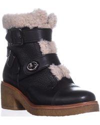 f10bde169d449 Lyst - Women s COACH Ankle boots Online Sale