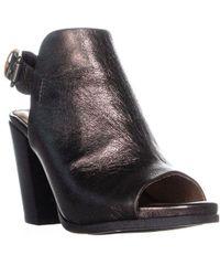 Gentle Souls - Shiloh Slingback Peep Toe Ankle Boots - Lyst