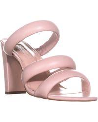 Avec Les Filles - Mule Heeled Sandals - Lyst