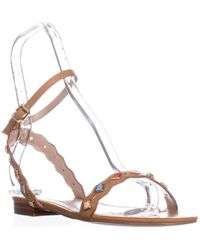 ALDO - Amelie Flat Ankle-strap Sandals - Lyst