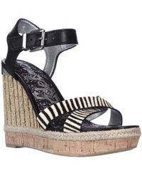 c928c40601bfa9 Sam Edelman - Clay Wedge Ankle Strap Sandals - Lyst