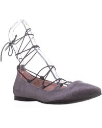 Chinese Laundry - Endless Summer Lace Up Flats - Lyst