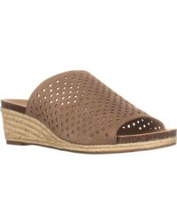 Lucky Brand - Jemya Leather Open Toe Mules - Lyst