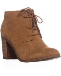 TOMS - Lunata Lace-up Booties - Lyst