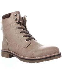 bddb5000e Tommy Hilfiger - Omar2 Knit Top Combat Boots - Lyst