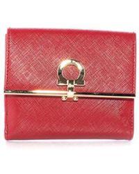 Ferragamo - Icona French Wallet - Lyst