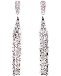 Fallon - Deco Tuile Earrings - Lyst