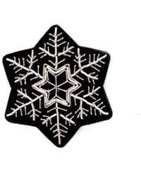 Macon & Lesquoy - Snowflake Pin - Lyst