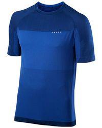 Falke - Ru T-shirt Bicolour Blue - Lyst