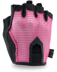 Under Armour - Ua Resistor Training Glove Pink Sky - Lyst