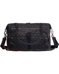 MZ Wallace - Quilted Black Crosby Traveler - Lyst
