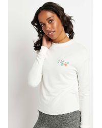 Spiritual Gangster - Aloha Hibiscus Crop Sweatshirt - Lyst