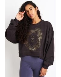 Spiritual Gangster - We Are Made Of Stars Billowed Crew Sweatshirt - Lyst