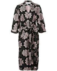 Julien David - Printed Kimono Coat - Lyst