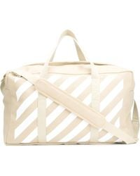 Off-White c/o Virgil Abloh | Striped Weekender | Lyst